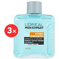 ĽORÉAL PARIS Men Expert Hydra Energetic Ice Impact 3 × 100 ml - Aftershave