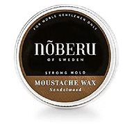 NOBERU Sandalwood Mustache Wax Strong Hold 30 ml - Bajusz viasz