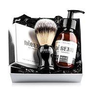 NOBERU Amber-Lime borotválkozó szett - Kozmetikai ajándékcsomag