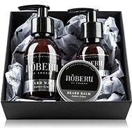 NOBERU Amber-Lime szakállápoló szett - Kozmetikai ajándékcsomag