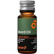 BEVIRO Bergamia Wood 10 ml - Szakállápoló olaj
