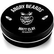 ANGRY BEARDS Mič Bjukenen Matt Clay 120 g - Hajformázó agyag