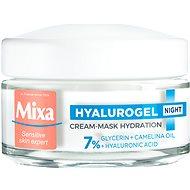 MIXA Hyalurogel Night Hydrating Cream-Mask 50 ml - Arckrém