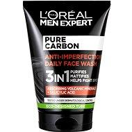 ĽORÉAL PARIS Men Expert Pure Carbon 3 az 1- ben Face Wash 100 ml - Arctisztító gél