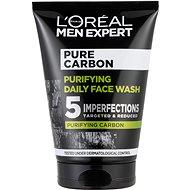 ĽORÉAL PARIS Men Expert Pure Carbon Daily Face Wash 100 ml - Arctisztító gél
