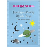 DERMACOL Beautifying Brightening Peel-Off Metallic Mask - tisztító