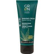 GRoN BIO Gentlemen's Organic Shaving Cream Hemp & Hops 75 ml - Borotválkozó krém