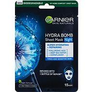 GARNIER Moisture Bomb Night-time Face Tissue Mask 28 g - Arcpakolás