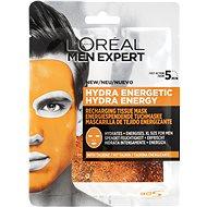 ĽORÉAL PARIS Men Expert Hydra Energetic Tissue Mask 30 g - Arcpakolás