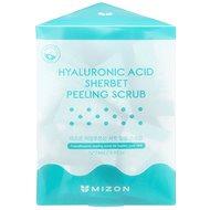 Hámlasztó MIZON Hyaluronic Acid Sherbet Peeling Scrub 24× 7 g - Peeling
