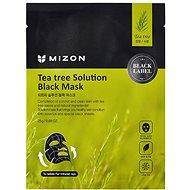 MIZON Teatree Solution Black Mask 25 g - Arcpakolás