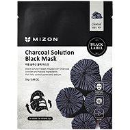 MIZON Charcoal Solution Black Mask 25 g - Arcpakolás
