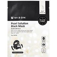 MIZON Pearl Solution Black Mask 25 g - Arcpakolás