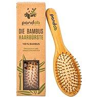 Hajkefe PANDOO Bambusz hajkefe természetes sörtékkel - Kartáč na vlasy