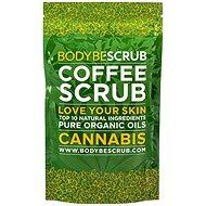 BODYBE Scrub - Kávés hámlasztó Kanabisszal 30 g - Hámlasztó