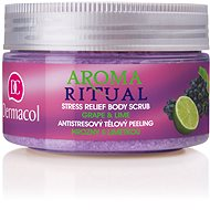 DERMACOL Aroma Ritual Grape & Lime Stress Relief Body Scrub 200 g - Hámlasztó