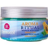 DERMACOL Aroma Ritual Papay & Mint Tropical Body Scrub 200 g - Hámosító