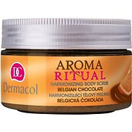 DERMACOL Aroma Ritual Belgian Chocolate Harmonizing Body Scrub 200 g - Hámosító