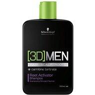 SCHWARZKOPF Professional [3D]Men Root Activator Shampoo - Férfi sampon