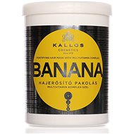 KALLOS Banana Fortifying Hair Mask 1000 ml - Hajpakolás