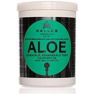 KALLOS Aloe Vera Moisture Repair Shine hidratáló, regeneráló fény hajpakolás - 1000 ml - Hajpakolás
