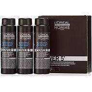 ĽORÉAL PROFESSIONNEL Homme COVER 5' 3 3 x 50 ml (3 - sötétbarna) - Férfi hajfesték