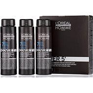 ĽORÉAL PROFESSIONNEL Homme COVER 5' 7 3 x 50 ml (7 - középszőke) - Férfi hajfesték