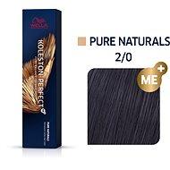 WELLA PROFESSIONALS Koleston Perfect Pure Naturals 2/0 (60 ml) - Hajfesték