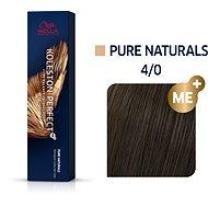 WELLA PROFESSIONALS Koleston Perfect Pure Naturals 4/0 (60 ml) - Hajfesték