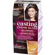 ĽORÉAL CASTING Creme Gloss 432 Csokoládé fondant 180 ml - Hajfesték