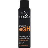 SCHWARZKOPF GOT2B Roaring High Clay 150 ml - Hajformázó agyag