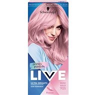 SCHWARZKOPF LIVE Ultra Brights Pretty Pastels P123 Rose Gold (50 ml) - Hajfesték
