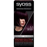 SYOSS Color 3-3 Sötét violett (50 ml) - Hajfesték