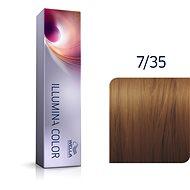 WELLA PROFESSIONALS Illumina Color Warm 7/35 60 ml - Hajfesték