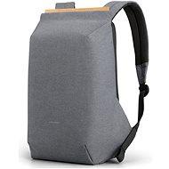 """Kingsons Anti-theft Backpack Light Grey 15.6"""" - Laptop hátizsák"""