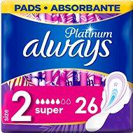 ALWAYS Platinum Super 26 db - Egészségügyi betét