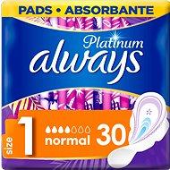 ALWAYS Platinum Normál 30 db - Egészségügyi betét