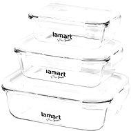 Lamart Air LT6011 3 darabos tárolóedény készlet - Ételtartó szett