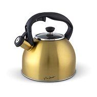 LAMART LT7057 Rozsdamentes acél vízforraló 2,5 liter GOLD - Teáskanna