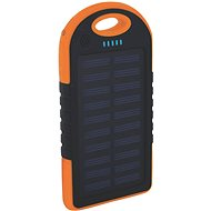 XLAYER Powerbank PLUS Outdoor Solar 4000mAh fekete/narancssárga - Power Bank