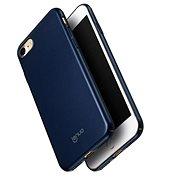 Lenuo Leshield tok iPhone SE 2020/8/7 készülékhez, kék - Mobiltelefon hátlap