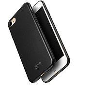 Lenuo Leshield tok iPhone 8/7 készülékhez, fekete - Mobiltartó