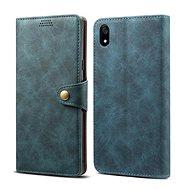 Lenuo Leather tok Xiaomi Redmi 7A készülékhez, kék - Mobiltelefon tok