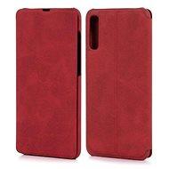 Lenuo LeDe tok Samsung Galaxy A70 készülékhez, piros - Mobiltelefon tok