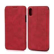 Lenuo LeDe tok iPhone X/Xs készülékhez, piros - Mobiltelefon tok