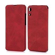 Lenuo LeDe tok Honor 8A készülékhez, piros - Mobiltelefon tok
