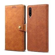 Lenuo Leather tok Huawei P Smart Pro/Y9s készülékhez - barna - Mobiltelefon tok