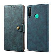Mobiltelefon tok Lenuo Leather Huawei P40 Lite E készülékhez, kék - Pouzdro na mobil