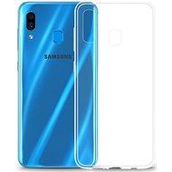 Lenuo Transparent tok Samsung Galaxy A30 készülékhez - Mobiltelefon hátlap