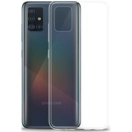 Lenuo Transparent tok Samsung Galaxy A51 készülékhez - átlátszó - Mobiltelefon hátlap